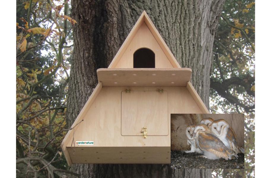 Barn Owl Box Camera System Buy Online At Vine House Farm