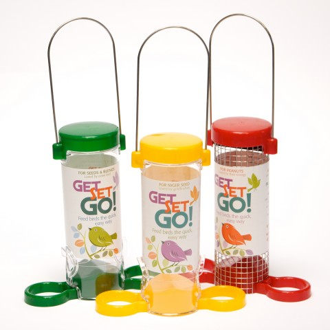 Get Set Go Set of Three Feeders