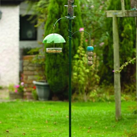 three way bird feeder station buy online at vine house farm. Black Bedroom Furniture Sets. Home Design Ideas