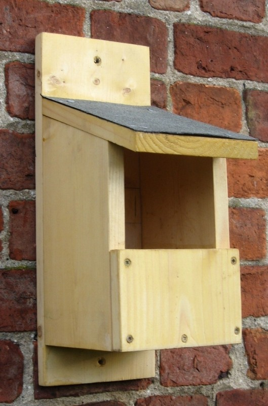 Wooden Open Fronted Nest Box Buy Online At Vine House Farm