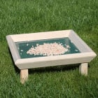 Square Ground Feeding Table