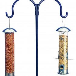 Twin Hook Garden Feeder Pole