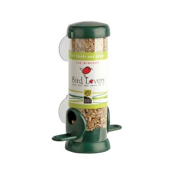 Bird Lovers Window Feeder Seed