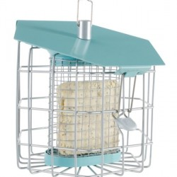Nuttery Hexihaus Compact Suet Fat Ball Feeder