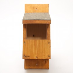 Wooden Open Fronted Nest Box