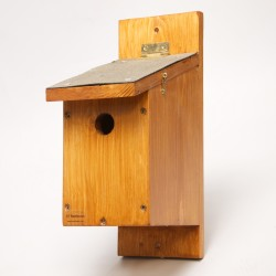 Wooden Tit Nest Box