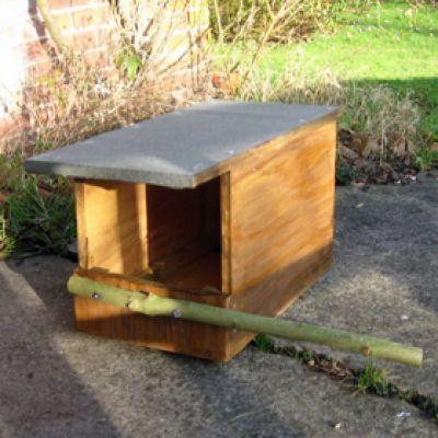 Kestrel Wooden Nest Box