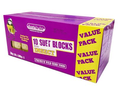 Suet Blocks - Insect Flavour