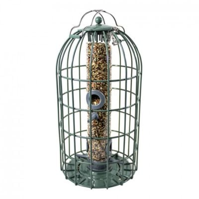 Nuttery Caged Bird Seed Feeder