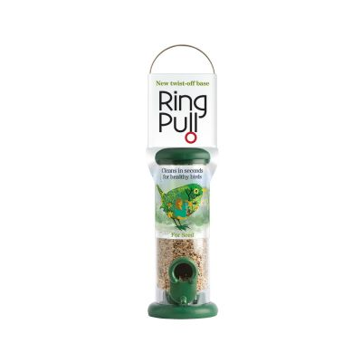 Ring Pull Plastic Seed Feeders