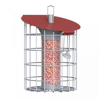 Nuttery Roundhaus Squirrel Proof Peanut Feeder