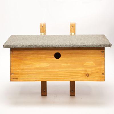 Sparrow Terrace Wooden Nest Box