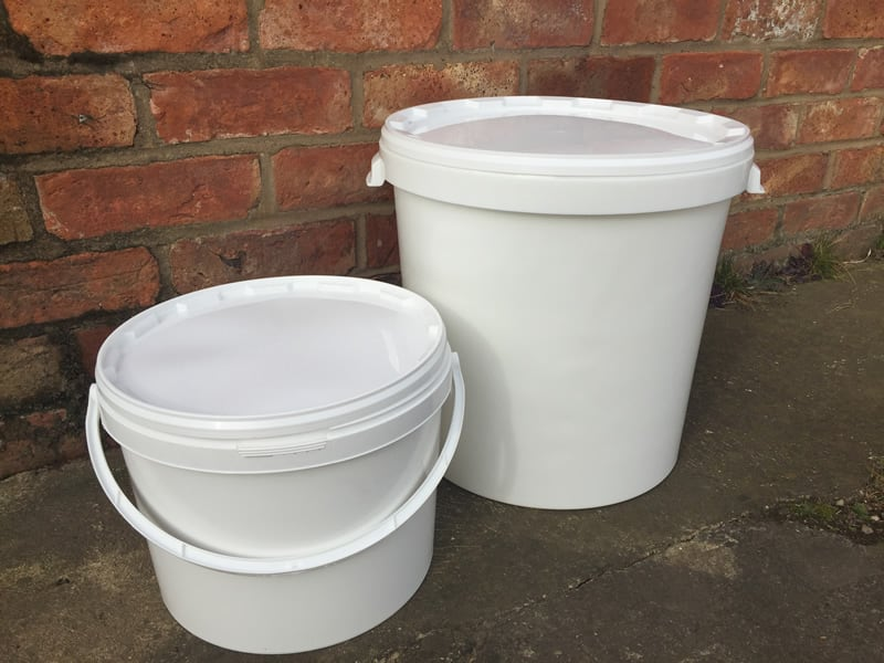 Food storage buckets