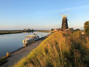On the Norfolk Broads with Nicholas